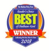 Best of Chatham-Kent Winner badge 2018 Oil Gard Chatham oilgardguy.com